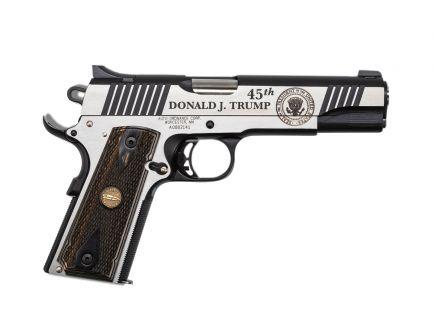 "Auto Ordnance 1911 A1 45th President ""Trump"" .45 ACP Limited Edition Pistol - KZ1911TCAC1"