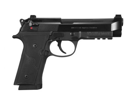 "Beretta 92X 4.7"" 9mm Full Size Pistol w/ Decocking Safety, 15rd - J92FR915"
