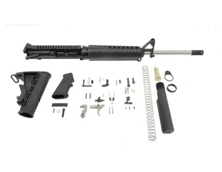 "PSA Gen3 PA10 18"" Mid-Length Stainless Steel .308 WIN 1/10 Classic EPT Rifle Kit"