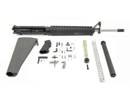 "PSA Gen3 PA10 20"" Rifle-Length Stainless Steel .308 WIN 1/10 Classic A2 EPT Rifle Kit"