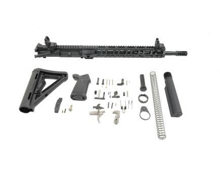 "PSA Gen2 16"" 5.56 NATO 1:7 Mid-Length Nitride 13.5"" Lightweight M-Lok MOE EPT Rifle Kit w/ MBUS Sight Set"