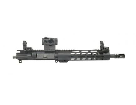"PSA 10.5"" 5.56 NATO 1/7 Phosphate 9"" Lightweight M-Lok Upper w/ Sig Sauer Romeo 5 & MBUS Sight Set - No BCG or CH"