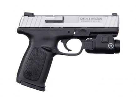 S&W SD9 VE 9mm Pistol w/ Crimson Trace Tactical Light - 13050
