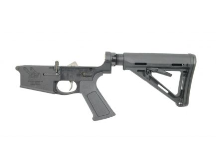 "PSA Gen3 ""Space Cannon"" PA10 Forged Complete MOE EPT .308 Lower with Over Molded Grip"