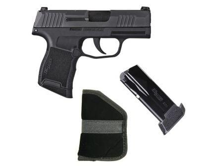 Sig Sauer P365 9mm Pistol w/ Night Sights, Extra 12rd Magazine