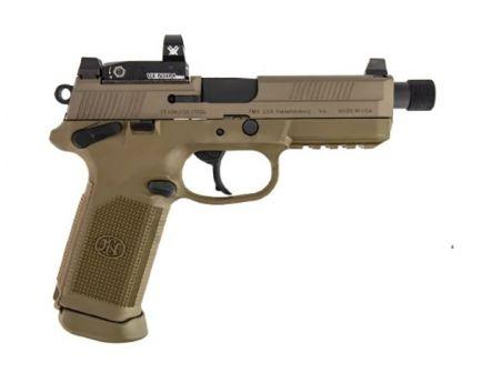 FN FNX-45 Tactical Pistol w/ Vortex Venom Optic, FDE - 66-100659