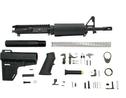 """PSA 11.5"""" 5.56 NATO 1/7 Nitride Classic Shockwave Pistol Kit, Black"""