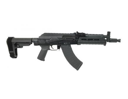 PSA AK-P MOE SBA3 Pistol with Side Rail, Black