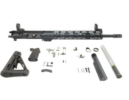 "BLEM PSA 16"" 5.56 NATO 1/7 Mid-Length Nitride 13.5"" Lightweight M-Lok MOE EPT Rifle Kit w/MBUS Sight Set"