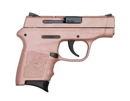 S&W M&P Bodyguard .380 ACP Pistol, Rose Gold - 109381RG