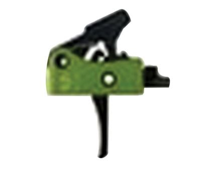 Stern Defense Hybrid 2-Stage Drop-in Small Pin Trigger for AR-15, AR-10 Style Rifles, Green/Black - H2S
