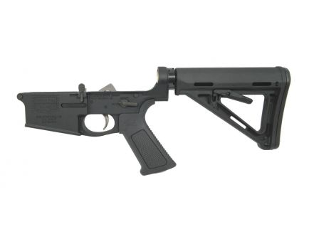 """PSA """"Build The Wall"""" PA10 Forged Complete MOE EPT 308 Lower with Over Molded Grip"""