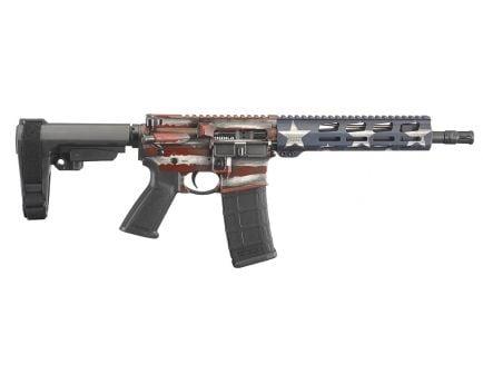 Ruger AR-556 5.56 NATO Pistol, American Flag - 8573