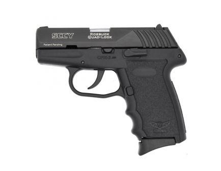SCCY CPX-3 .380 ACP Black Pistol, No Manual Safety, 1 Magazine - CPX-3CB