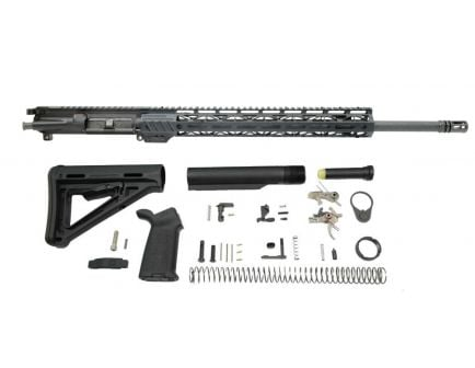 "PSA 20"" CHF Rifle-Length 5.56 NATO 1/7 15"" Lightweight M-lok MOE 2-Stage Precision Rifle Kit with Nickel Boron BCG"