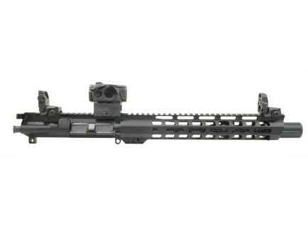 "PSA 10.5"" Carbine-Length 5.56 NATO 1/7 Nitride 12"" Slant M-Lok Upper with MBUS Sight Set & Romeo 5 - No BCG or CH"