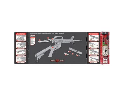 Real Avid Advanced Master Cleaning Station for AR-15 Rifle - AVMCS-AR