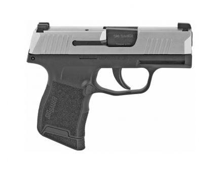 Sig Sauer P365 9mm Pistol w/ Night Sights, Stainless - 365-9-TXR3