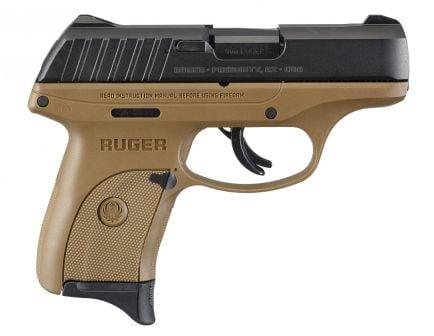 Ruger EC9s 9mm Pistol, FDE - 3297