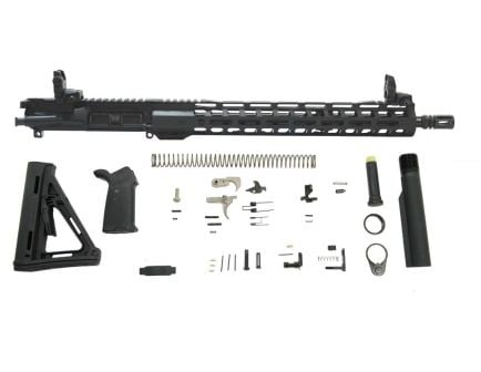 "PSA 16"" 5.56 NATO 1/7 Mid-Length Nitride 15"" Lightweight M-Lok MOE EPT Rifle Kit"