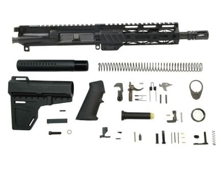"PSA 8.5"" Pistol-length 5.56 NATO 1/7 Phosphate 7"" M-Lok Railed Classic Shockwave Pistol Kit"