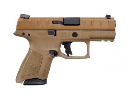 Beretta APX Compact 9mm Pistol, FDE - JAXC92105