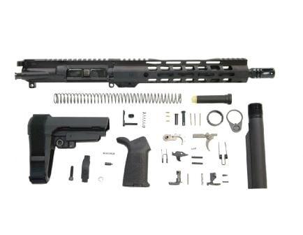 """PSA 11.5"""" 5.56 NATO 1/7 Nitride 10.5"""" Lightweight M-Lok MOE EPT SBA3 Pistol Kit"""