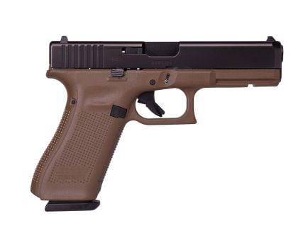 Glock G17 Gen5 9mm Pistol, FDE - PA1750203DE