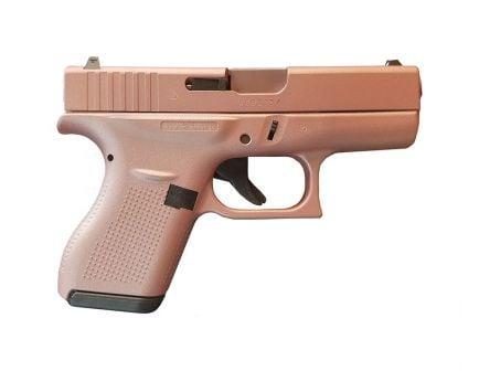 "Glock G42 380 ACP 3.25"" Pistol, Rose Gold"