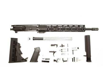 "PSA 16"" 300AAC Blackout Pistol-Length 1/8 Nitride 13.5"" Lightweight M-Lok Freedom Rifle Kit"