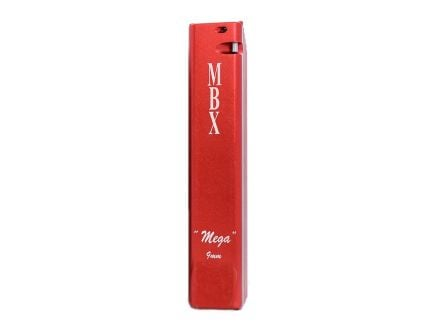 "MBX ""Mega 57"" 21 Round Glock Magazine Extension Basepad w/ Spring, Red - 6203"