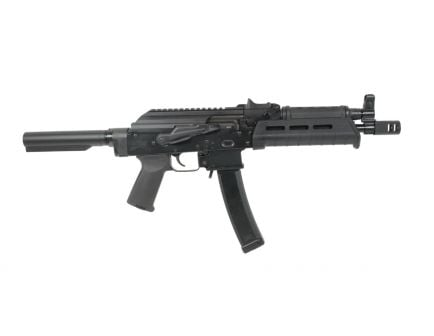 PSA AK-V 9mm MOE Pistol, Black - Without Pistol Brace