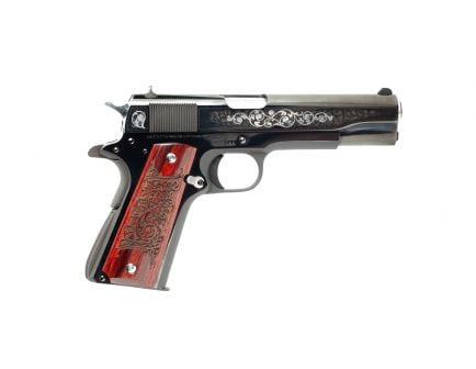 "Colt Series 70 Gustave Young Engraved 45ACP 5"" Pistol, Talo Exclusive - O1970A1CS-VJC"