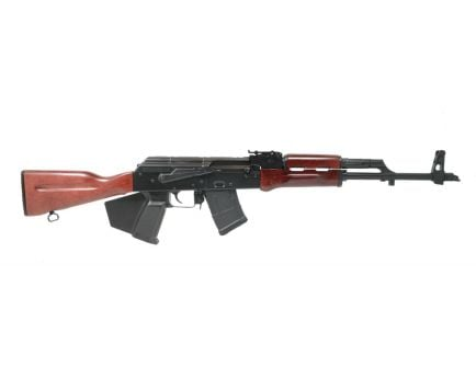PSA AK47 GF3 Forged Red Wood Rifle - California Compliant
