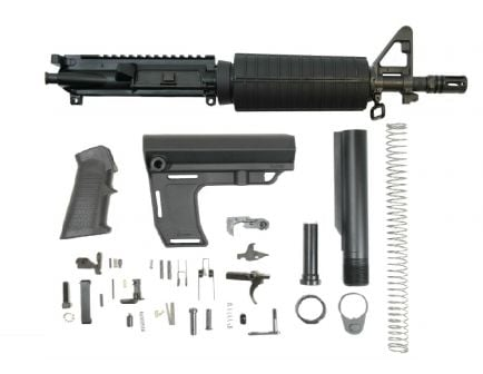 """PSA 10.5"""" 5.56 NATO 1/7 Nitride Classic MFT Battlink Pistol Kit"""