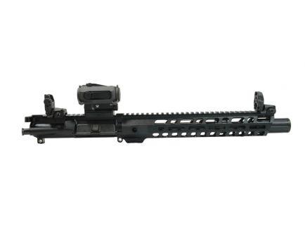 "PSA 10.5"" Carbine-Length 5.56 NATO 1/7 Nitride 12"" Slant M-lok w/BCG, CH, MBUS Sight Set, & Sparc AR 2"