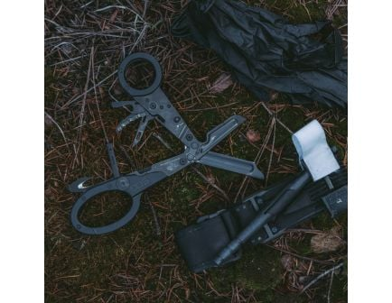 SOG Knives Parashears Stainless Steel 11-Tool Multi Tool, Black Oxide - 23-125-01-43