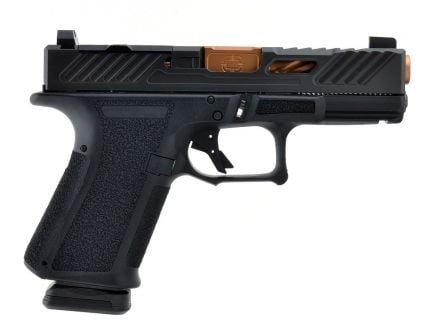 "Shadow Systems MR918 Elite 9mm 4"" Pistol, Black - MR918-B-EOD-SUB-SENP"
