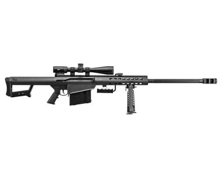 "Barrett Model 82A1 50BMG 29"" Rifle w/ Vortex PST 5-25x50 Scope, Black - 18600"
