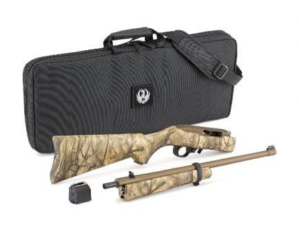 "Ruger 10/22 Takedown .22lr 16.12"" Rifle w/ Rifle Case, Go Wild Camo - 31146"