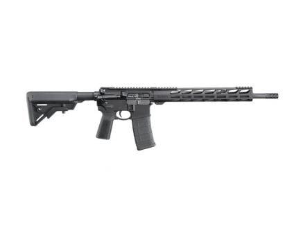 "Ruger AR-556 5.56NATO 16.1"" Rifle w/ 13.5"" Free Float Handguard, Black - 8542"