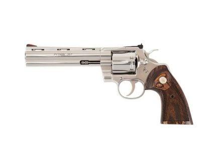 "Colt Colt Python (6"") .357 Mag Revolver, Stainless - PYTHON-SP6WTS"