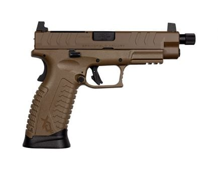 "Springfield XDM Elite OSP 9mm Pistol 4.5"" Threaded Barrel, FDE"