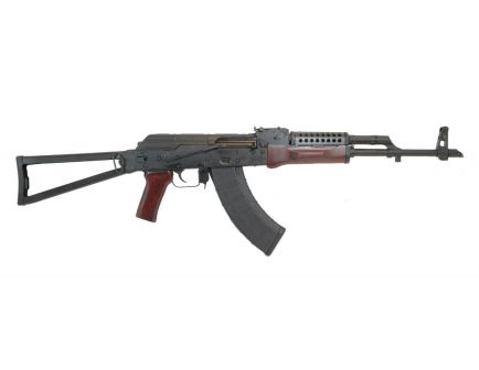 PSAK-47 GF3 Forged Red Wood Triangle Side Folding Rifle with Cheese Grater Upper Handguard
