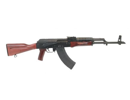 PSAK-47 GF3 Forged Red Wood Rifle With Cheese Grater Upper Handguard