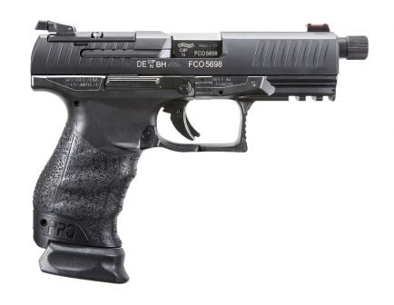 "Walther PPQ Q4 Tactical M1 9mm 4.6"" Pistol, Black - 2846969"