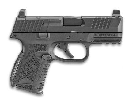 "FN 509 Compact MRD 9mm 15rd 3.7"" Pistol, Black - 66-100571"