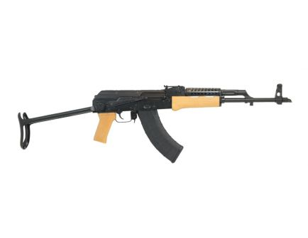 PSAK-47 GF3 Forged Blonde Wood Under Folder Rifle with Cheese Grater Upper Handguard
