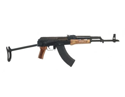 PSAK-47 GF3 Forged Nutmeg Wood Under Folder Rifle with Cheese Grater Upper Handguard