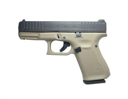 "Glock G44 22lr 10rd 4.02"" Pistol, FDE - UA4450101FDE"